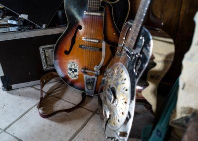 Guitares - Bertrand Vacarisas