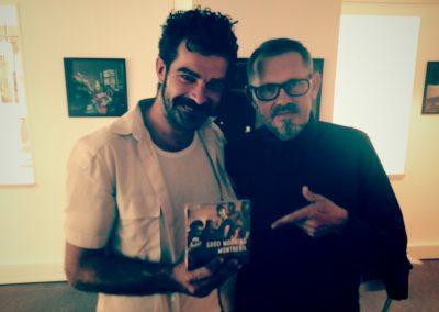 """Johnny et Jean Fabien sortie de """"Good Morning Montreuil"""""""